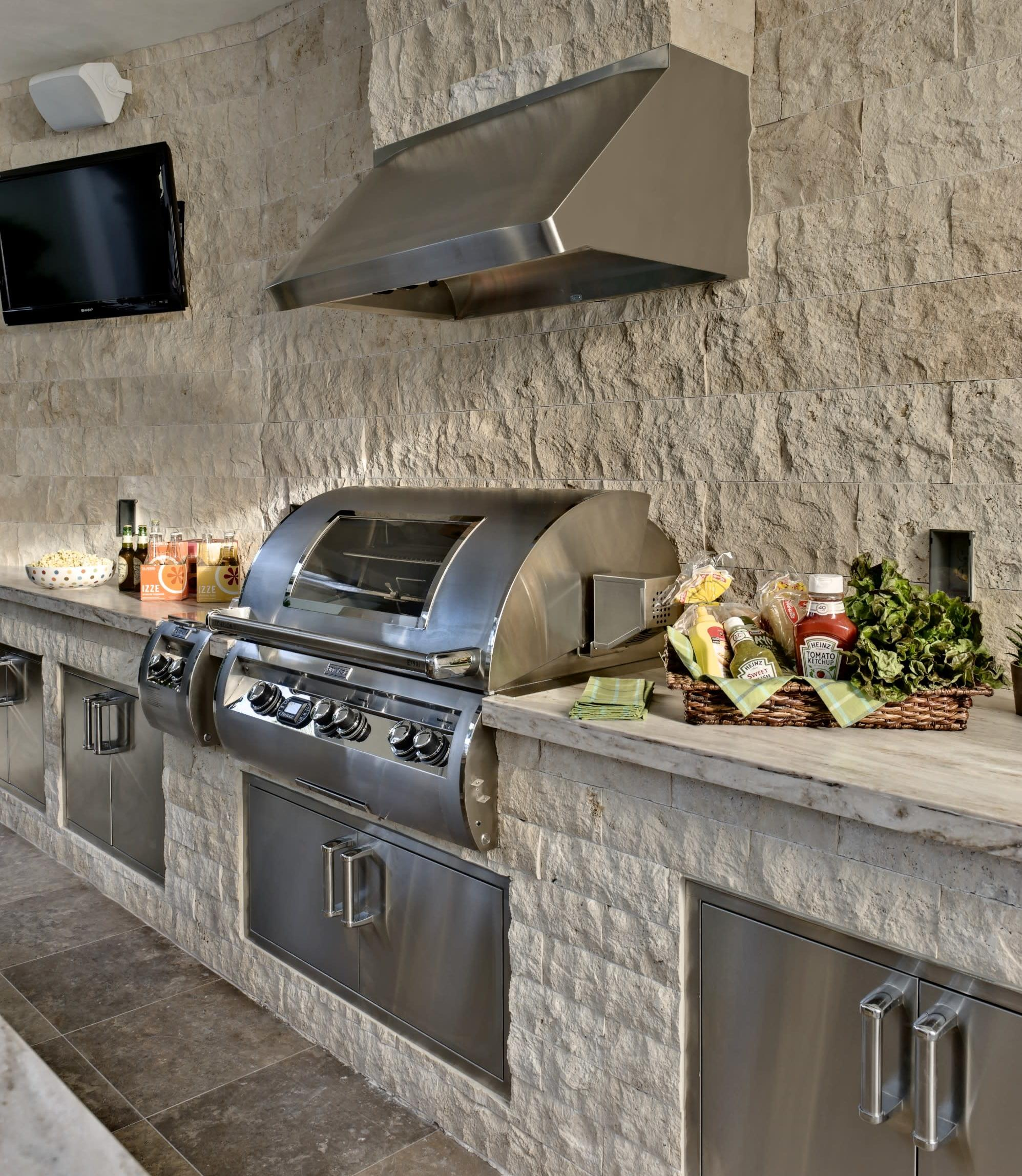 Fire Magic Outdoor Kitchen