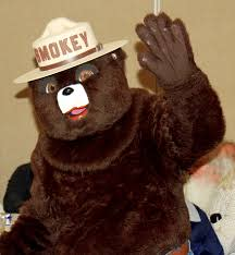 Come meet Smokey the Bear