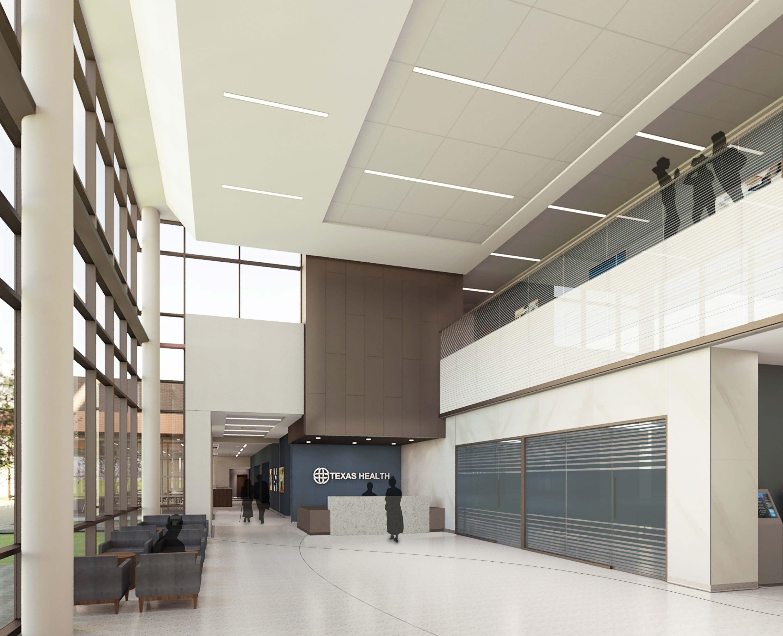 Texas Health Hospital Mansfield Lobby