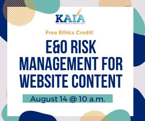 E&O Risk Management for Website Content