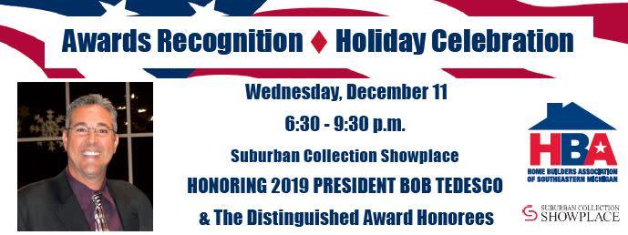 HBA Awards Recognition | Holiday Celebration