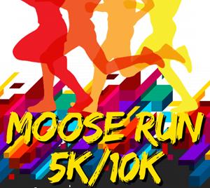 Moose Run 5k/10k logo