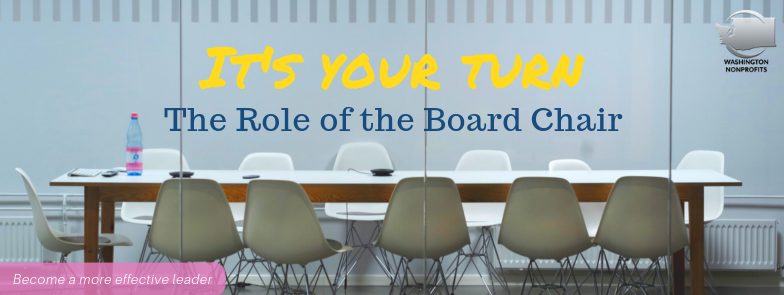 The Role of the Board Chair Online Webinar Series