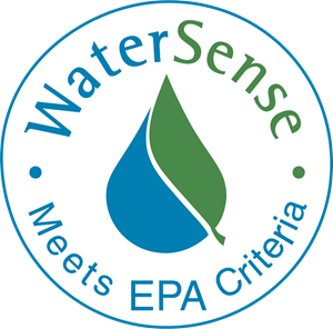 Logo of the EPA Water Sense Program.