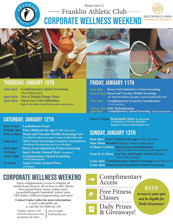 Corporate Wellness Weekend