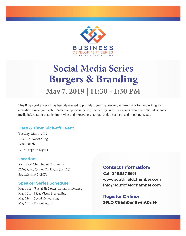 Social Media Series Burgers & Branding