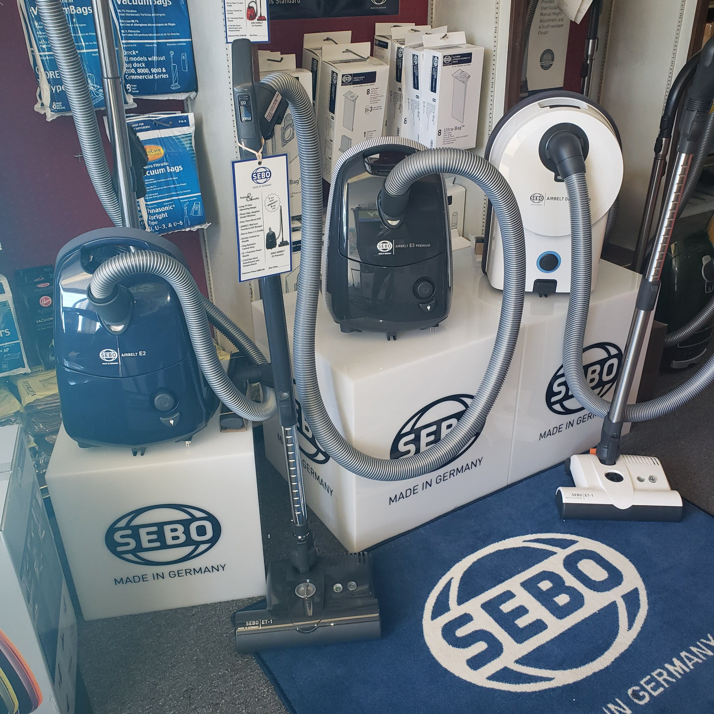Sebo Vacuums. Made in Germany