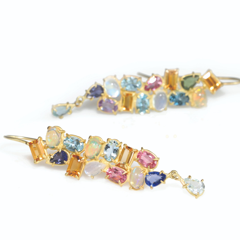Rosanne Pugliese Mosaic Earrings