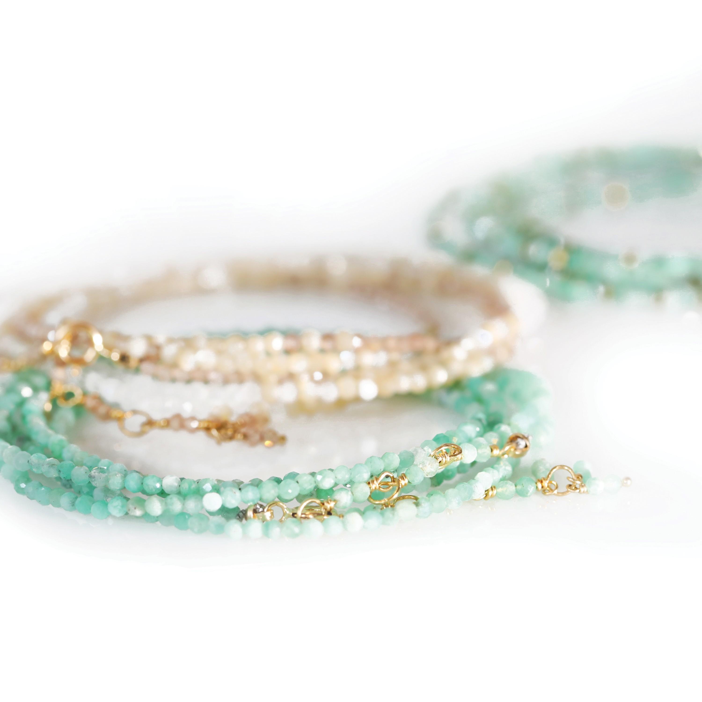 Anne Sportun Wrap Bracelets