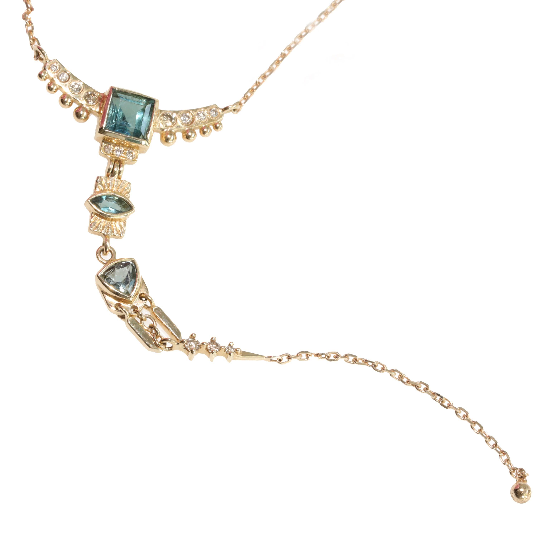 Celine Daoust Totem Lariat Necklace