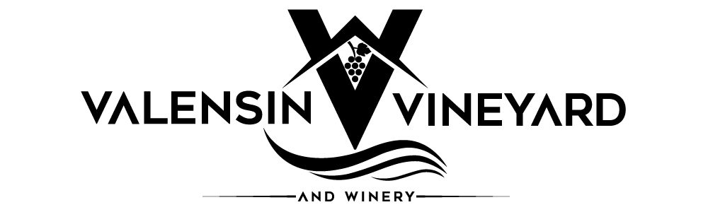 Valensin Vineyard and Winery logo - April 2021