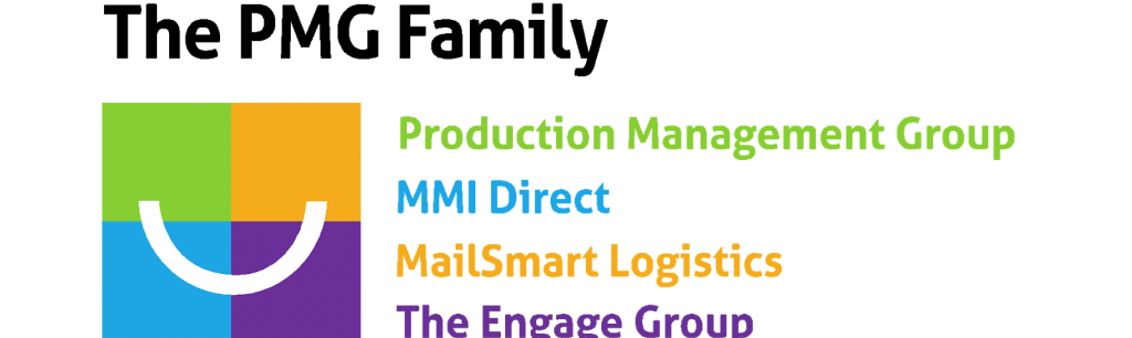 The PMG Family logo and list of companies