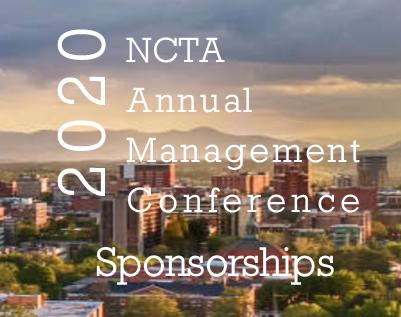 Sponsor 2020 NCTA Annual Management Conference