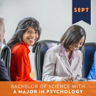 bachelor of science with a major in psychology