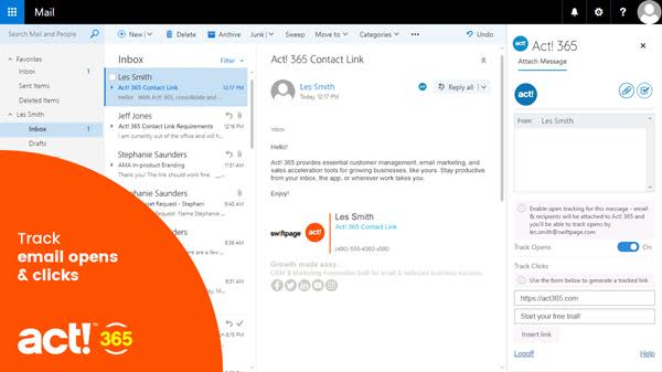 MEMBER POST: Swiftpage Unveils New Act! 365 Pro Product Tier for Microsoft® Office 365 Users