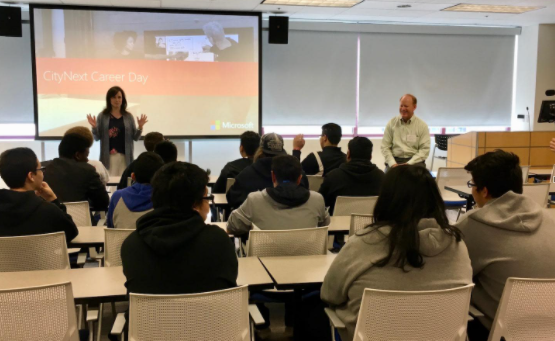 Microsoft Hosts STEM Career Day in partnership with Colorado Technology Foundation and Denver Public Schools CareerConnect