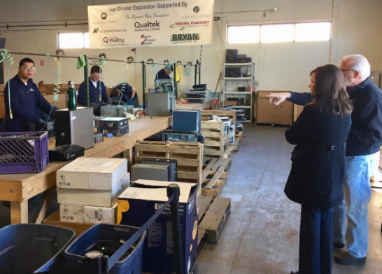 Blue Star Recyclers: Creating Opportunities for Colorado's Developmentally Disabled Tech Workforce