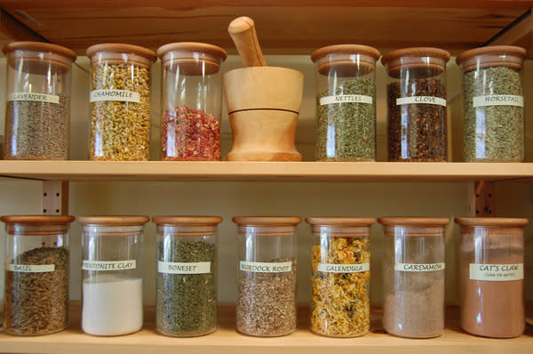 Apothecary of Herbs and Essential Oils