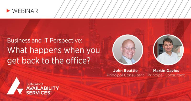 Webinar: Getting Back to the Office