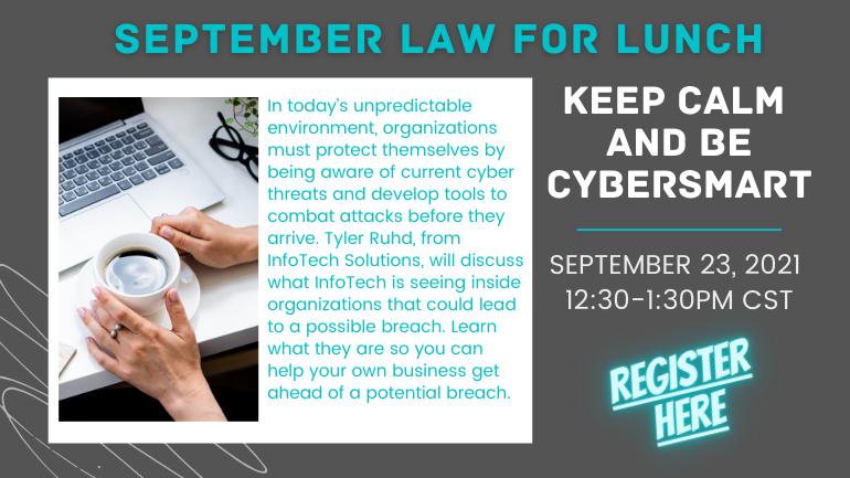 September Law For Lunch