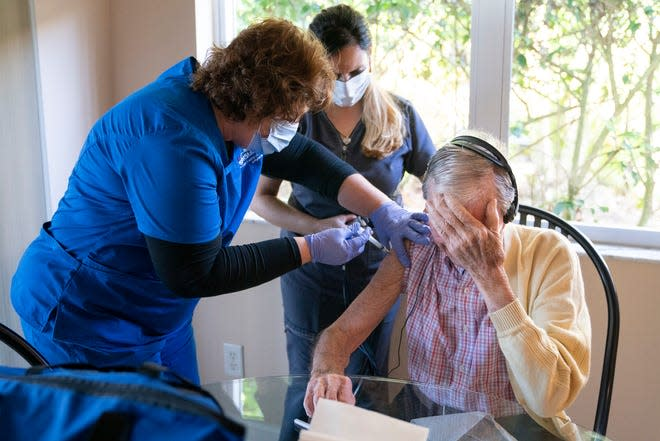 Home health agencies not tasked to vaccinate homebound so who is doing the shots?