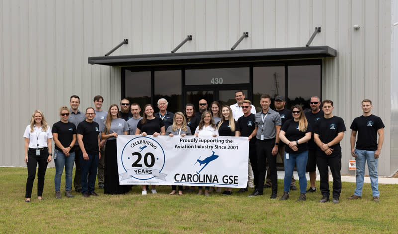 20 Years of Service in the Aviation Industry