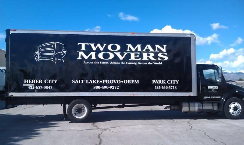 Two Man Mover Truck