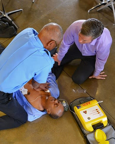 Cardiopulmonary Resuscitation – is an emergency lifesaving procedure performed when the heart stops beating. Immediate CPR ca