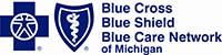 Blue Cross Blue Shield Blue Care Network of MI Logo