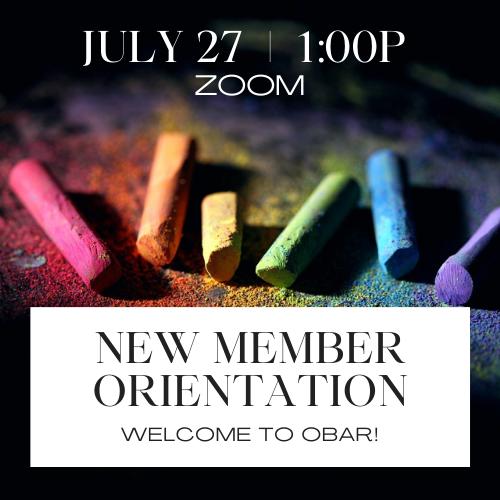 July New Member Orientation