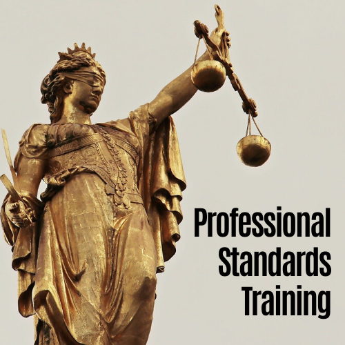 Professional Standards Training