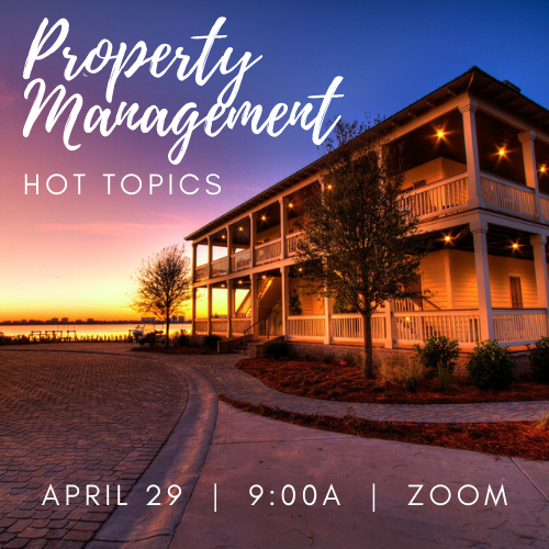 Property Management Hot Topic - April