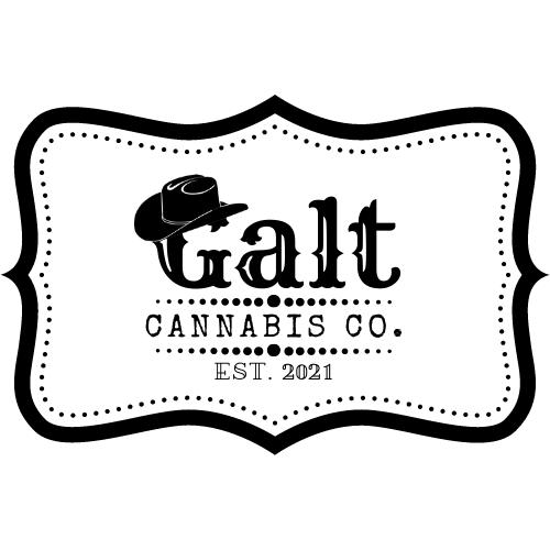 Galt Cannabis Co. Est. 2021 logo - June 30 2021