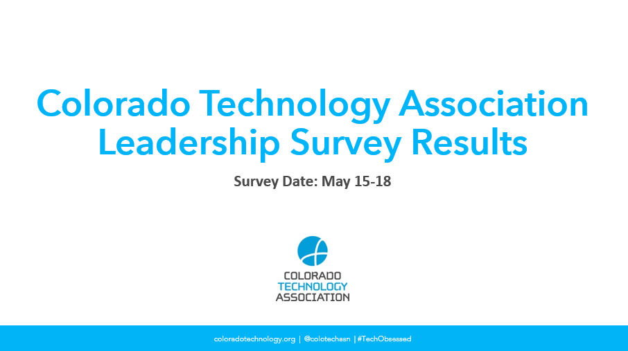 CTA Releases Leadership Poll on Impact of COVID-19 on Colorado Tech Businesses