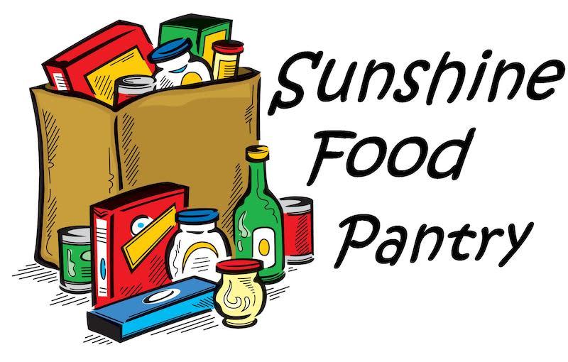 Sunshine Food Pantry logo 1 - June 30 2021