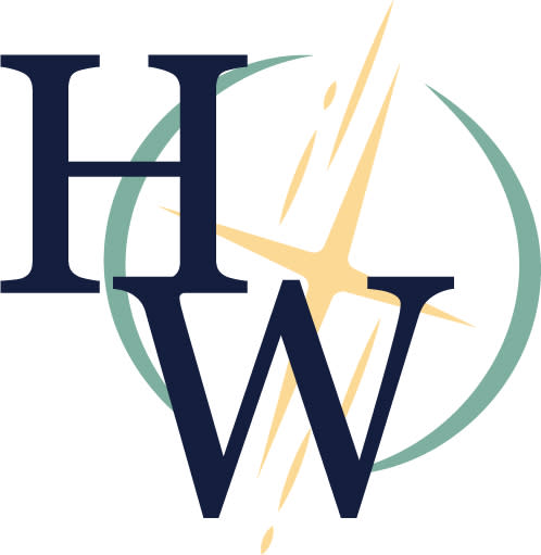 Hantzmon Wiebel logo (HW inside the Northstar Image)