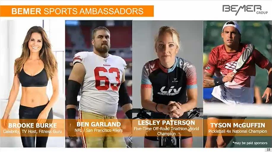 BEMER Sports Ambassadors