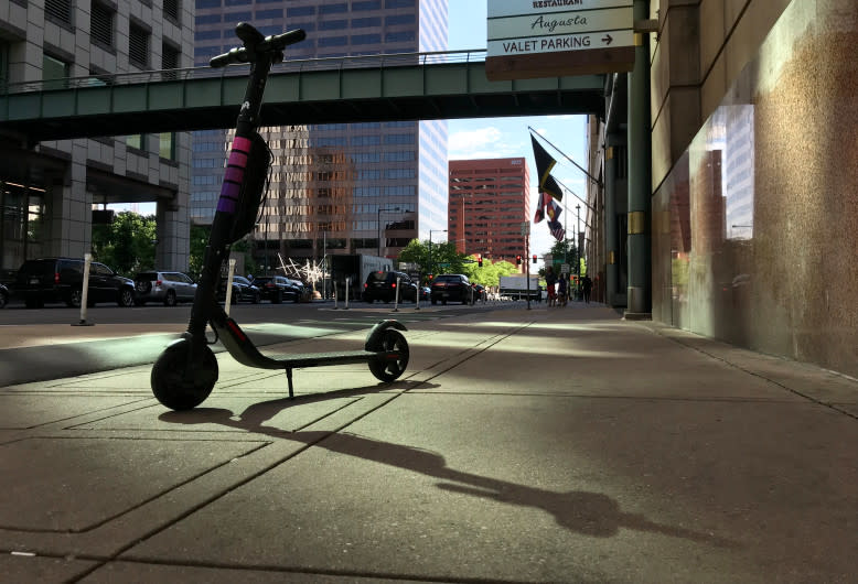Love them or hate them, scooters are staying in Denver