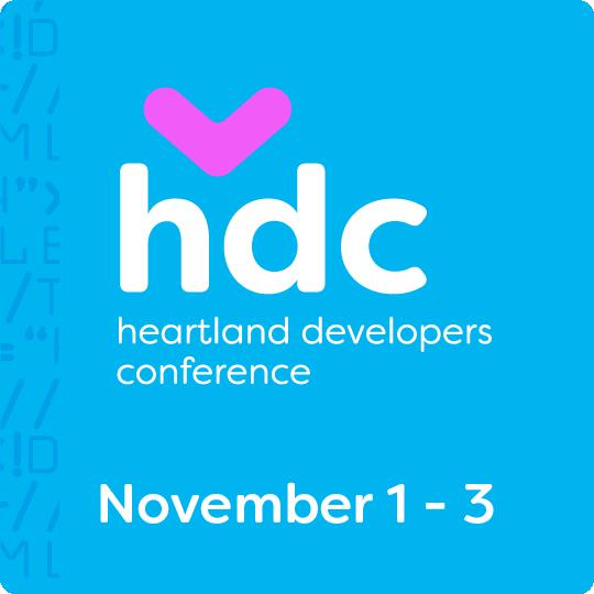 Heartland Developers Conference - November 1-3