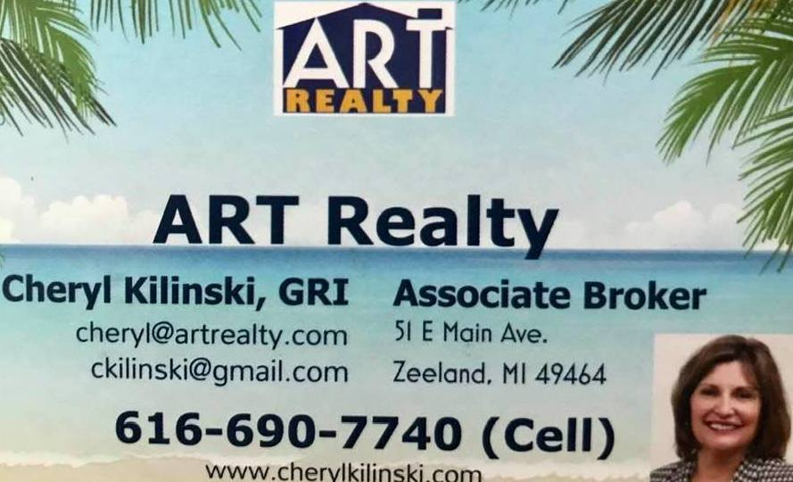 Cheryl Kilinski, Associate Broker ART Realty