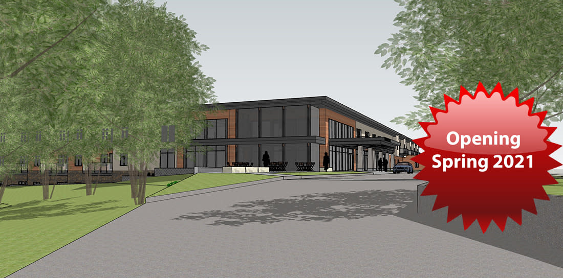 Render of the New Stirlingshire of Coralville Location