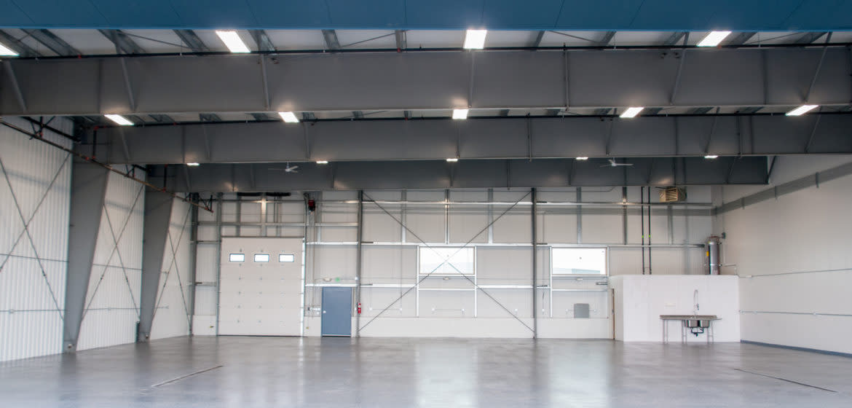 Hangar B Interior