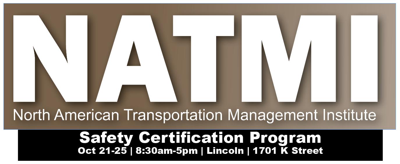NATMI Safety Certification Program