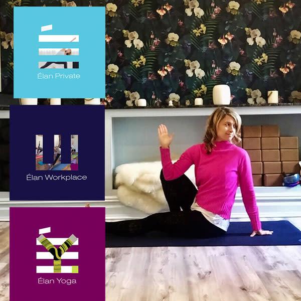 Elan Yoga Branding