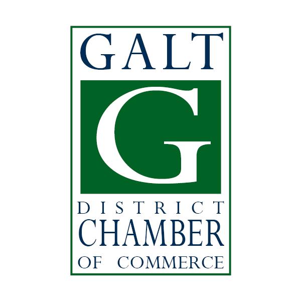 Galt District Chamber of Commerce logo
