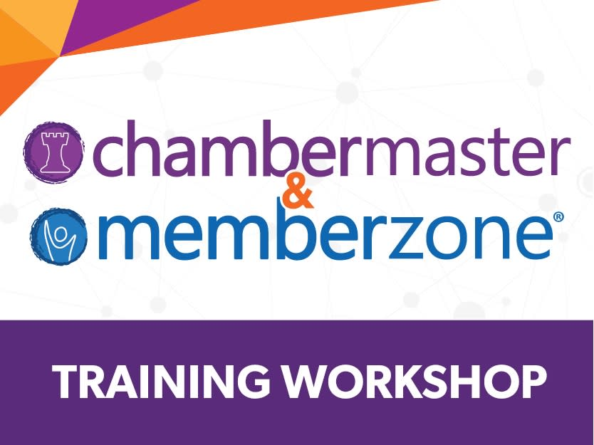 Event Setup; ChamberMaster/MemberZone - SIMULATED LIVE