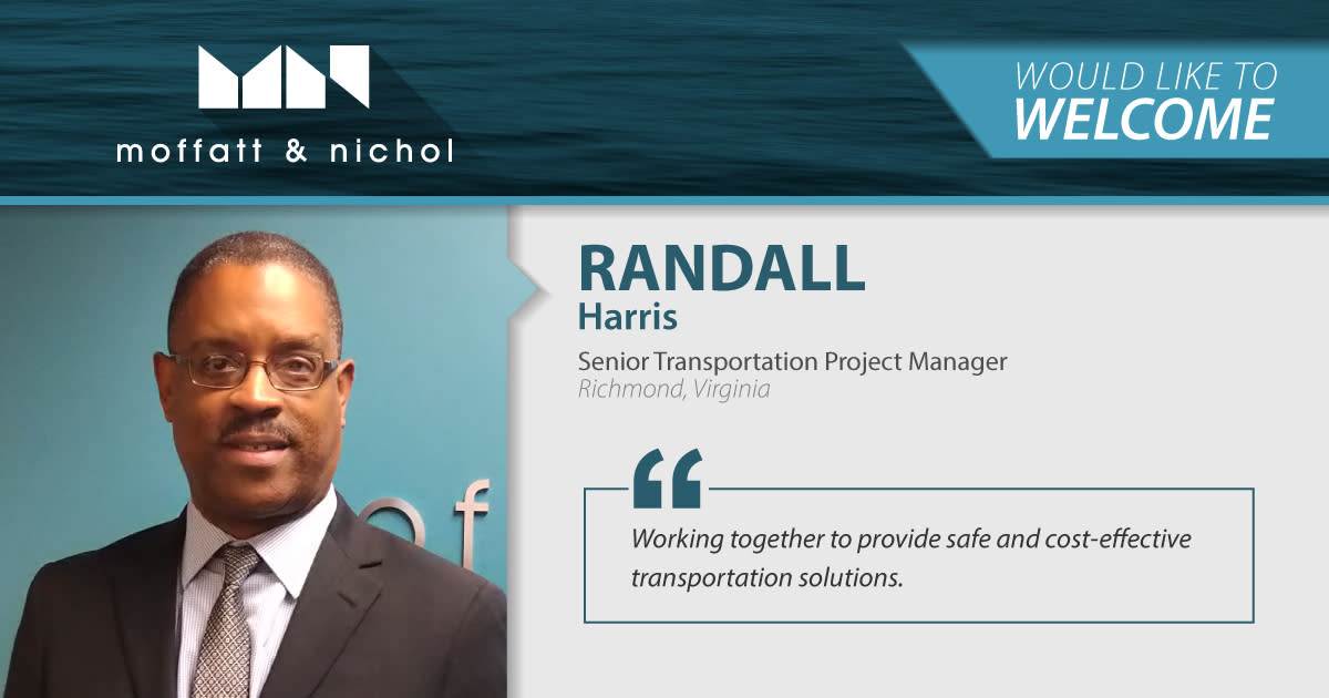 Moffatt & Nichol Welcomes Randall Harris