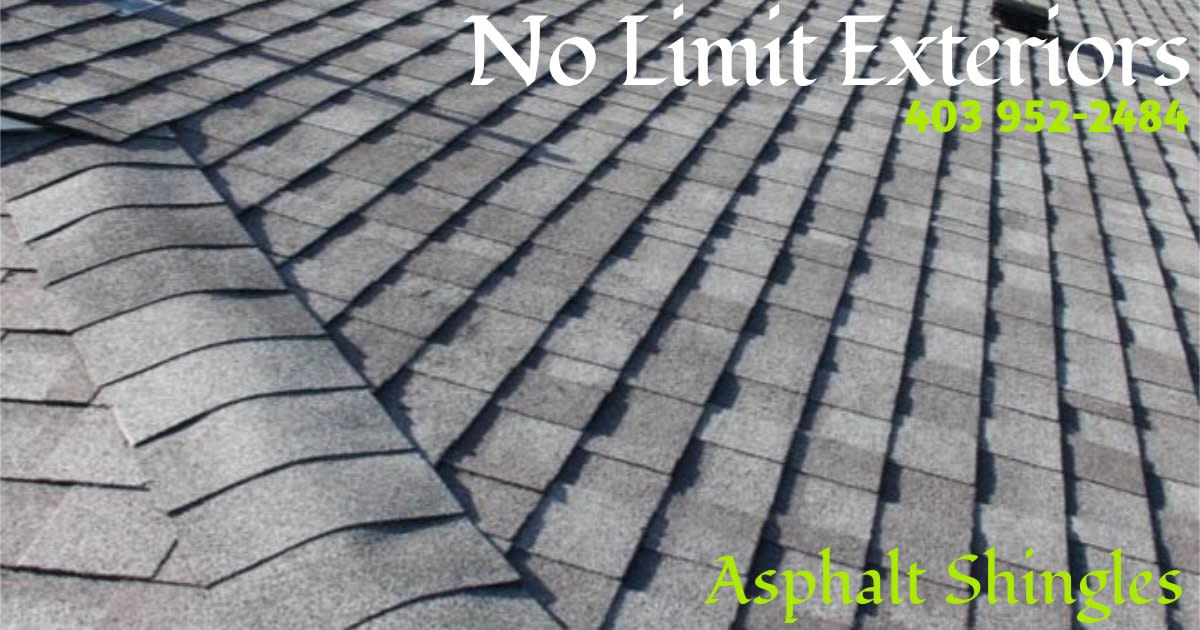 Medicine Hat Roofing and Exteriors - Ashpalt Shingles