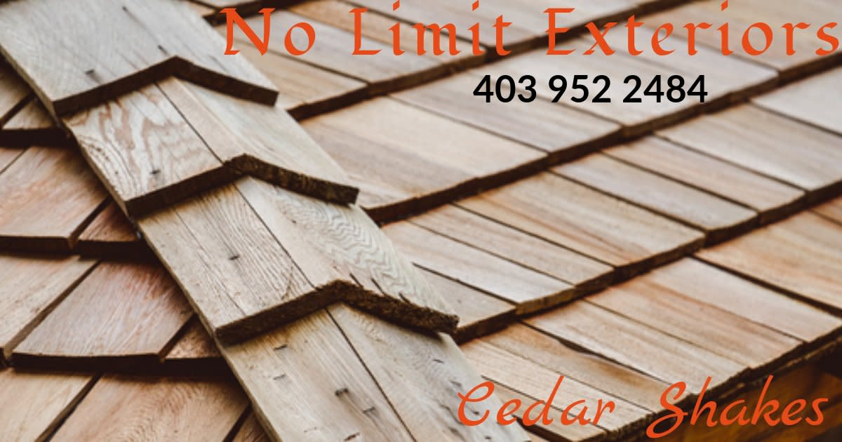 Medicine Hat Roofing and Exteriors - Cedar Shakes