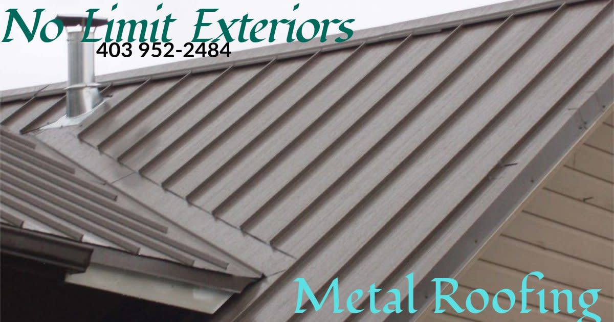 Medicine Hat Roofing and Exteriors - Metal Roofing